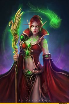 Kana Kanade, Blood elf, Warcraft race, Warcraft, Blizzard, Blizzard Entertainment, fandom