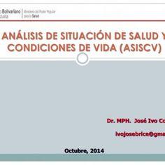 ANÁLISIS DE SITUACIÓN DE SALUD Y CONDICIONES DE VIDA (ASISCV) Dr. MPH. José Ivo Contreras Octubre, 2014 ivojosebrice@gmail.com   El problema de la antropo. http://slidehot.com/resources/taller-analisis-de-situacion-de-salud-asis-2014.61059/