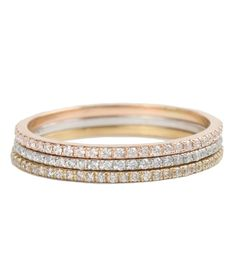 Catbird :: shop by category :: JEWELRY :: Wedding & Engagement :: Fairy Light Eternity Band, White Diamonds