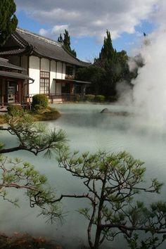 Beppu hot spring, Japan