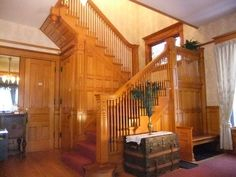 Beautiful Victorian home staircase | Dream Homes/Plans | Pinterest