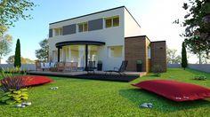 Plan maison 124m2, 4 chambres gratuit : plan n°165 | CGIE
