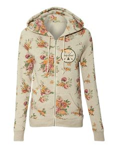 The Patch Floral Women's Zip-Up Hoodie Hooded Sweatshirts, Hoodies, My Outfit, Fashion Brands, Zip Ups, Topshop, Cute Outfits, Shirt Dress, Lady