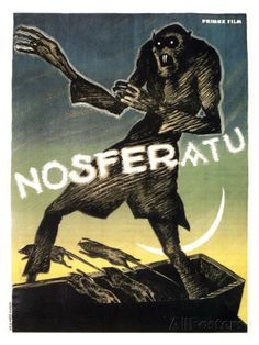 Nosferatu, a Symphony of Horror, 1922 Posters AllPosters.fi-sivustossa