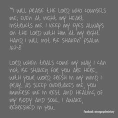 Scripture, Prayer, Devotion #atruegospelministry