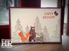 All Things Stampy: Mix It Up Monday: Thankful Forest Friends group