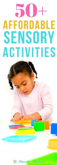 50 affordable sensory activities for kids to do at home. Super fun ideas for sensory bins bottles sensory bags sensory boards and many amazing sensory activities and plays. Sensory Activities For Preschoolers, Summer Activities For Kids, Group Activities, Infant Activities, Diy Sensory Board, Sensory Bags, Sensory Play, Sensory Bottles, Thing 1