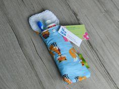 Petite pochette voyage pour brosse à dents et/ou dentifrice