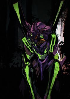 Evangelion - EVA 1 Artist Unknown