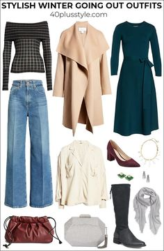 Winter going out outfits so stylish you won't mind the cold | 40plusstyle.com