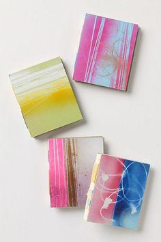pretty neon journals