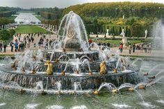 Gardens of Versailles, Versailles, France