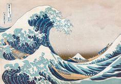 PUZZLE DE MADERA La Gran Ola de Kanagawa (Hokusai). 250 piezas