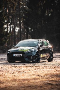 Inspiration for creative car photography. Powerful sportscar has been photographed in a commercial shoot. My Dream Car, Dream Cars, Ford Focus Hatchback, Focus Rs, Car Photography, Car Stuff, Dan, Composition, Commercial