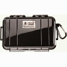 PELICAN 1040 MICRO CASE ASST.  The #1040 Micro Case is a range of cases to protect your valuable small items. They have the same look as larger Pelican, plus they combine an attractive style, and offer the legendary strength of Pelican Protector Cases.