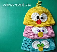 Spring Peeper Beanie ~ free patterns ᛡ