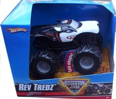 2009 Hot Wheels Monster Jam SPIKE UNLEASHED Rev Tredz Official Monster Truck Series 1:43 Scale by Mattel. $17.22. 1:43 Scale. Official Monster Jam Truck. Spinning wheels and Realistic Revving sound. Rev 'em and Race 'em. Great for the Collector!. Crush the Competition with this 1:43 scale Hot Wheels truck! Let the dirt fly with these ground-poundin Hot Wheels Monster Trucks. Rev up for total domination and destruction on the Monster Jam circuit. It's unstoppable, in-your face Mon...