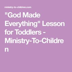 Ministry-To-Children is a website that helps you with free Bible lessons, children's ministry curriculum, ideas for children's church and activities for kids Sunday school. Free Bible, Bible Lessons, Knowing God, Ministry, Curriculum, Everything, Activities For Kids, Toddlers, Children
