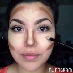Tutorial de Maquiagem Contornada! ❤️Para mais videos?! Sigam: @tutorialdodia ✨ @tutorialdodia @tutorialdodia ✨ @tutorialdodia  . Tutorial by @I #Padgram