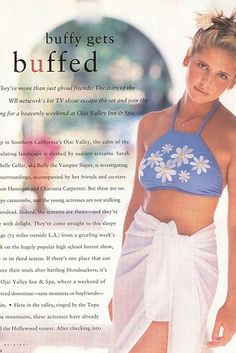 "You Need To See This Amazing '90s Photoshoot With The ""Buffy The Vampire Slayer"" Ladies"