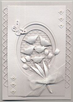 Stamps and Paper: White on White....