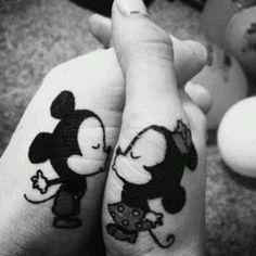 Cute tattoo idea for couples