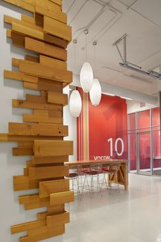 Image result for Faux wood board (all aluminum) #officedesignscorporate