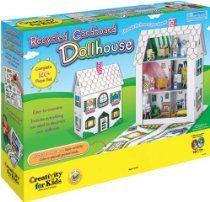 Recycled Cardboard Dollhouse Kit- SKU-PAS664057