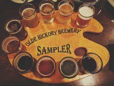 Beer flights can be so beautiful #craftbeer #beer