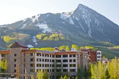 Grand Lodge has a nice view of #thebutte. #crestedbutte #lodging