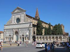 ALBERTI. Santa María Novella, Florencia. 1456.1470