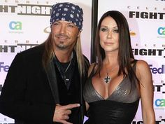 Bret Michaels and Kristi Gibbons - well, they WERE in love...