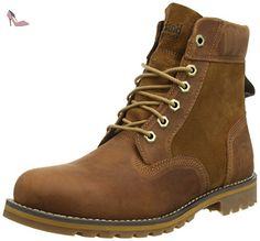 Timberland Larchmont 6In, Bottes Classiques homme, Marron (Medium Brown), 49 EU - Chaussures timberland (*Partner-Link)