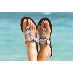 Aspiga Rosada White Sandal