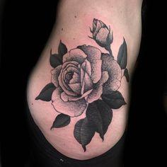 #rose  (at Dark Age Tattoo)