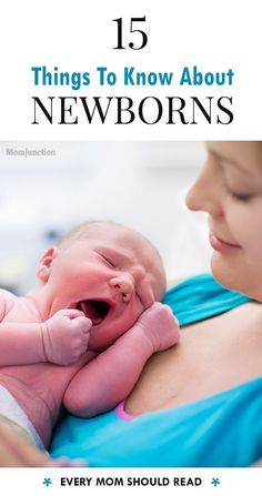 15 Surprising Things You Wish You Had Known About Newborns!