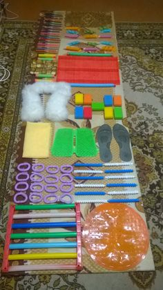 Sensory Board for Toddler Busy Board Montessori toy Tactile Child Development Infant Educational Wooden White on Stand Diy Sensory Toys For Babies, Baby Sensory Board, Sensory Boards, Sensory Activities, Sensory Play, Infant Activities, Activities For Kids, Busy Boards For Toddlers, Montessori Toys