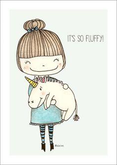 print fluffy - Bodesigns