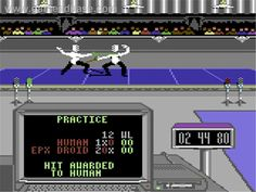 Summer Games II (Commodore 64)......best sports game on C64