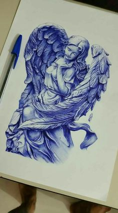 how to draw boys Hals Tattoo Mann, Tattoo Hals, Cute Tattoos, Body Art Tattoos, Tattoo Drawings, Angel Sketch, Demon Tattoo, Angel Tattoo Designs, Religious Tattoos