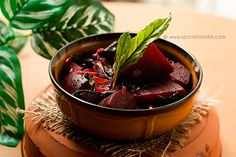 Fresh Beets Sauteed with Garlic, Onion, and Beet Greens or Spinach