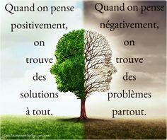 Pensées positives valent mieux que panser ses plaies ...