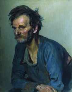 Academic keeper Efimov, 1870  Ilya Repin