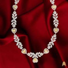 alaghbandThe 'Sogol' collection, a deep connection of love entwined into a spectacular train of heart shaped flawless yellow diamonds. Stylish Jewelry, Modern Jewelry, Metal Jewelry, Fashion Jewelry, Unique Jewelry, Real Diamond Necklace, Diamond Pendant, Diamond Design, Jewelry Collection