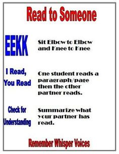 Here is a FREE Daily 5 Read to Someone Reminders Chart that we use in our intermediate classroom.