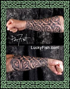 Celtic Tattoo Portfolio — LuckyFish, Inc. and Tattoo Santa Barbara