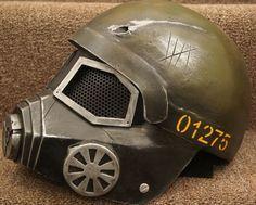 Fallout New Vegas NCR Ranger Helmet Real Life Cosplay