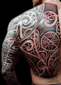 From Polynesian to Maori, modern styles and more, discover the top 60 best tribal back tattoos for men. Explore masculine designs and bold black ink ideas. Maori Tattoo Meanings, Maori Tattoos, Samoan Tattoo, Viking Tattoos, Life Tattoos, Body Art Tattoos, Sleeve Tattoos, Mens Tattoos, Tribal Tattoo Designs
