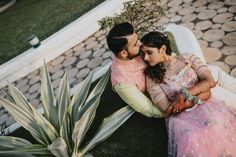 Mumbai Wedding With A Pretty Nikkah Ceremony & Swoon-Worthy Bridal Looks To Save! - Witty Vows Indian Wedding Couple, Wedding Couples, Muslim Nikah, Nikah Ceremony, Beautiful Indian Brides, Wedding Highlights, Wedding Entertainment, Muslim Couples, Wedding Story