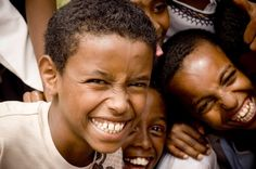 Finding Something To Laugh About In Ethiopia